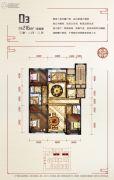 碧桂园�鼎3室2厅3卫216平方米户型图