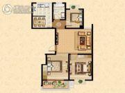 西盛园3室1厅1卫0平方米户型图