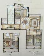 中梁・首府壹号4室2厅2卫157平方米户型图