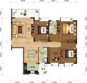 书香门第4室2厅2卫0平方米户型图