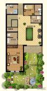 香江别墅II0平方米户型图