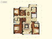 润富国际花园3室2厅3卫197平方米户型图