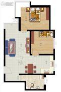 富康世家0室0厅0卫0平方米户型图