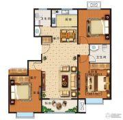 盛世康城四期・鑫园3室2厅1卫123平方米户型图