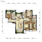 沈阳雅居乐花园4室2厅2卫134平方米户型图