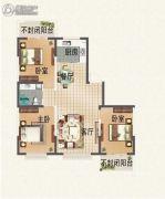 晟宝龙广场3室2厅1卫0平方米户型图