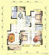 苏通国际新城3室2厅2卫138--143平方米户型图