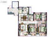 海曙金茂悦3室2厅2卫110平方米户型图