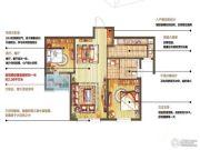 朗诗绿色街区2室2厅1卫87平方米户型图