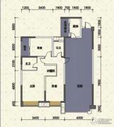 嘉州新城十期3室2厅2卫115平方米户型图