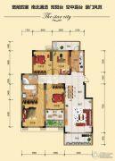 金江星城4室2厅2卫140平方米户型图