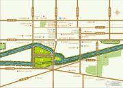 朝阳花园交通图