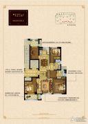 大发・凯旋门4室2厅2卫127平方米户型图