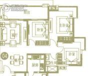广州亚运城3室2厅1卫112平方米户型图