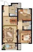 秀兰・禧悦都2室2厅1卫88平方米户型图