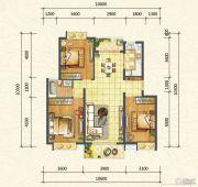 万达西双版纳国际度假区3室2厅1卫105平方米户型图