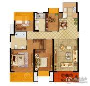 弘阳燕江府4室2厅2卫125平方米户型图