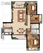 联泰・滨江中心3室2厅2卫136--139平方米户型图