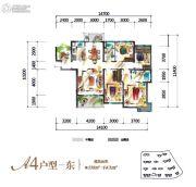 勤诚达・境界城5室2厅2卫138--143平方米户型图