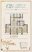 汕尾星河湾3室2厅3卫0平方米户型图