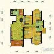 东方名城4室2厅2卫162平方米户型图