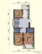 中和金佰3室2厅1卫92--93平方米户型图