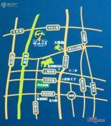 锦林水岸交通图