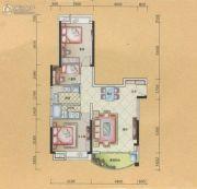 半山豪庭3室2厅1卫0平方米户型图