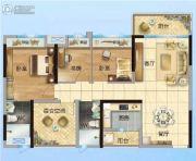 碧桂园・联丰天汇湾4室2厅2卫101平方米户型图