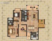 富恒・金鹏嘉苑二期2室2厅1卫120平方米户型图