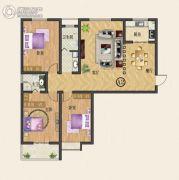 中纺佳苑・颐和铭郡3室2厅2卫147平方米户型图