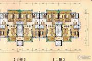 享泰园3室2厅3卫120平方米户型图
