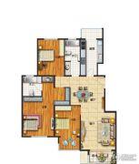 中南湾3室2厅2卫135--136平方米户型图