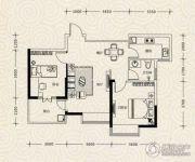 凯乐国际城2室2厅1卫95平方米户型图