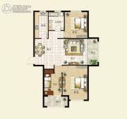 华明星海湾3室2厅1卫116平方米户型图