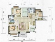 华融琴海湾3室2厅1卫119平方米户型图