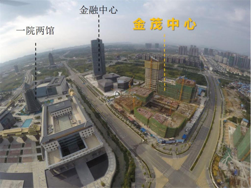 桂林金茂中心实景图