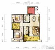 保利凤凰湾2室2厅1卫0平方米户型图
