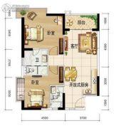 HOOARY欢乐岛2室2厅1卫0平方米户型图