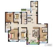 远洋・新天地6室2厅4卫218平方米户型图