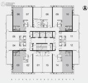 江湾2981室1厅1卫66平方米户型图