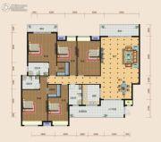 南方梅园5室2厅2卫257--258平方米户型图