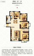 宏伟九庭4室2厅2卫124平方米户型图