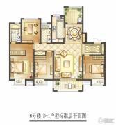 华润中心 高层4室2厅2卫0平方米户型图