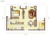 高沙新天地2室2厅2卫93--98平方米户型图
