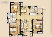 中洲里程3室2厅2卫115平方米户型图