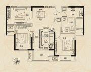 建业新城3室2厅1卫0平方米户型图