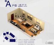 朗悦公园道1�1室1厅1卫44--54平方米户型图