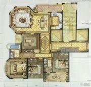 尚品半岛4室2厅2卫165平方米户型图