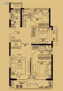 绿地苏州ONE3室2厅2卫115平方米户型图